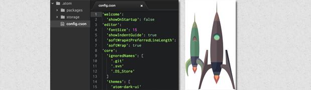 Atom, el editor de texto creado por GitHub