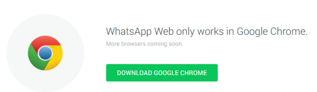 Ya está disponible WhatsApp para web